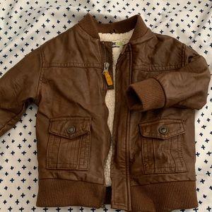 ♥️Osh Kosh Toddler Leather Jacket